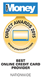 Your Money Direct Awards 2015 - Best Online Credit Card Provider